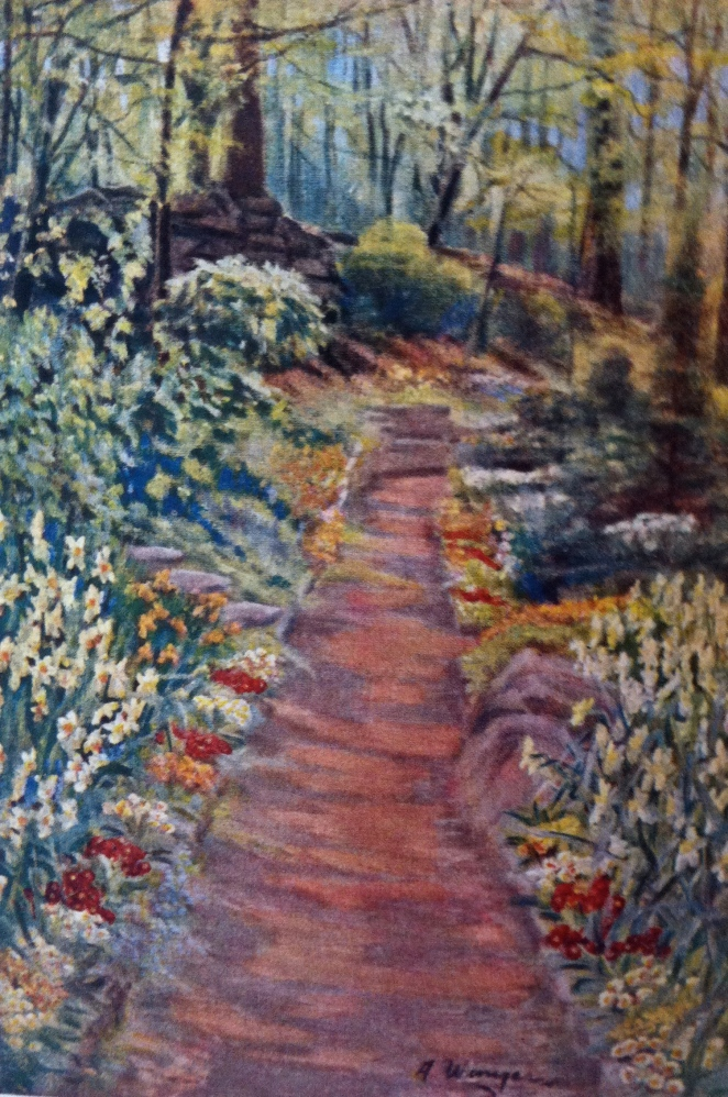 From Louise Beebe Wilder's rock garden, 1928