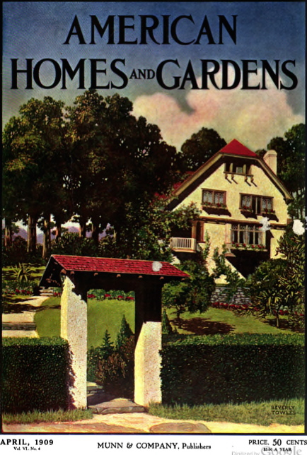 Featured home in this 1909 issue--The Wilders of Bronxville, NY