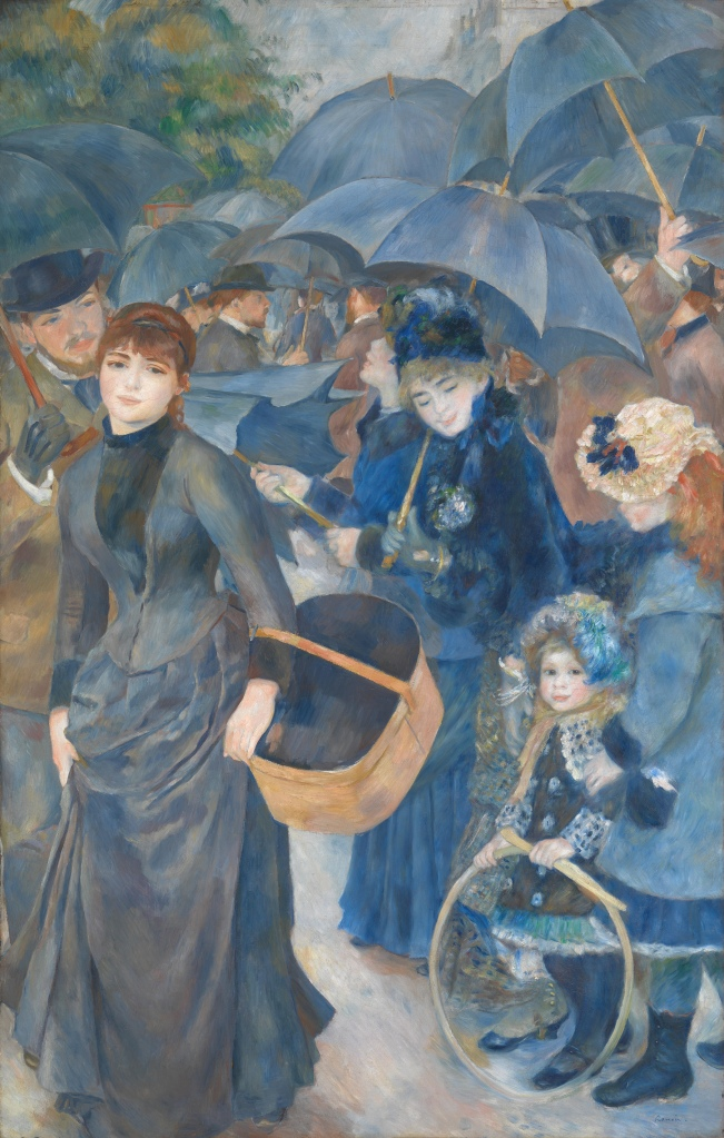 Renoir's Parapluies: