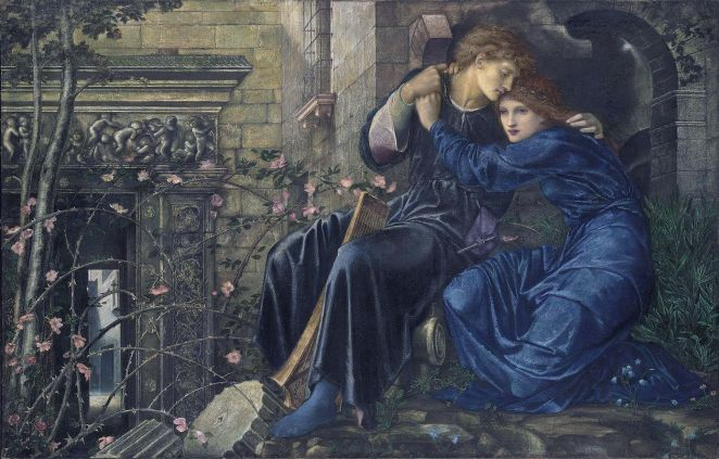 burne-jones-love-among-the-ruins