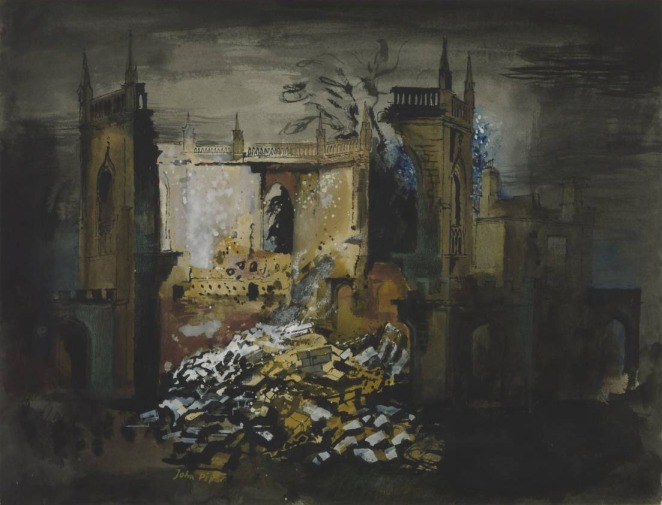 All Saints Chapel, Bath 1942 John Piper 1903-1992 Presented by the War Artists Advisory Committee 1946 http://www.tate.org.uk/art/work/N05719