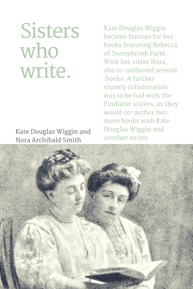 Sisters who write...